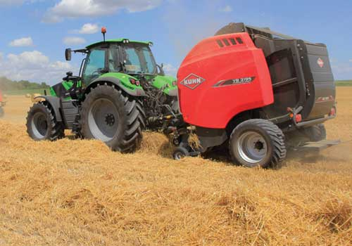 agricultural inventory - tractor and baler